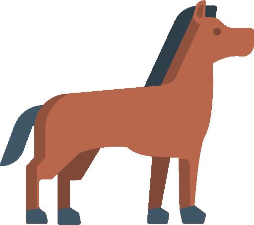 animation af hest
