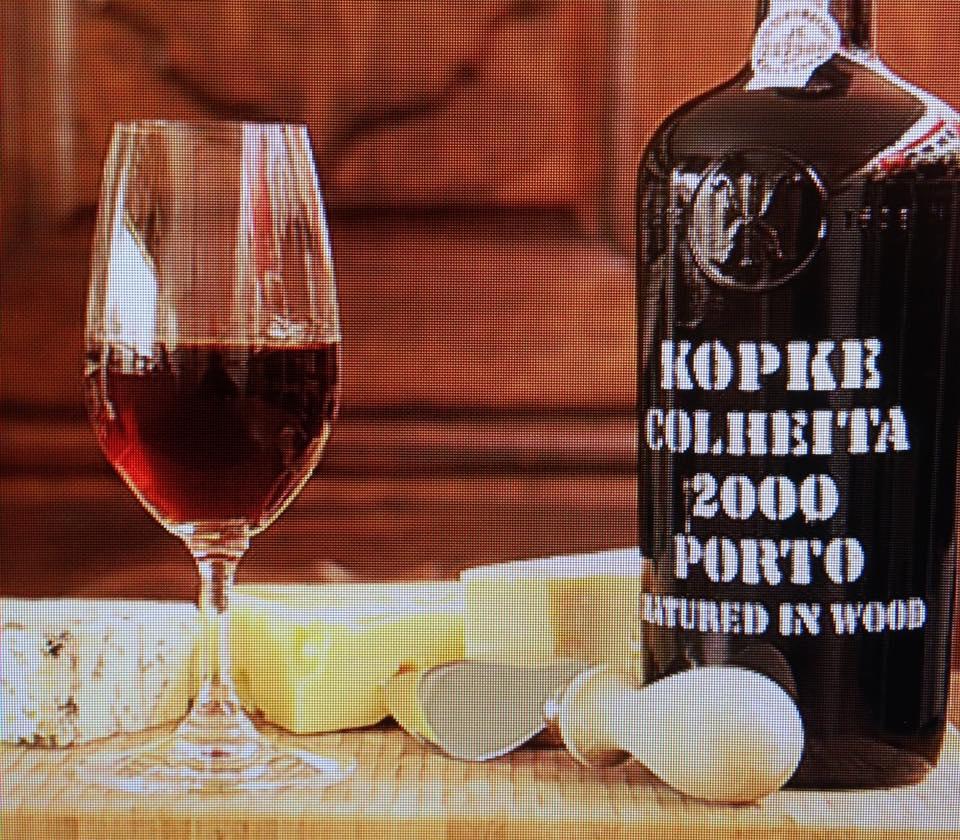 billede af en portvin