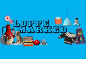 Logo, loppemarked